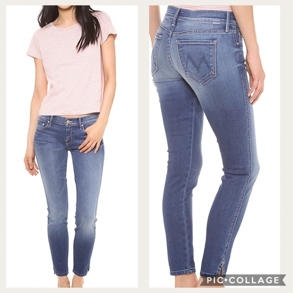 07c2a115dec MOTHER Jeans | The Vamp Skinny Ankle Slit Sz 27 | Poshmark